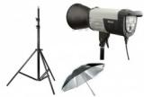Štúdiový set 300 Ws + dáždnik + stativ